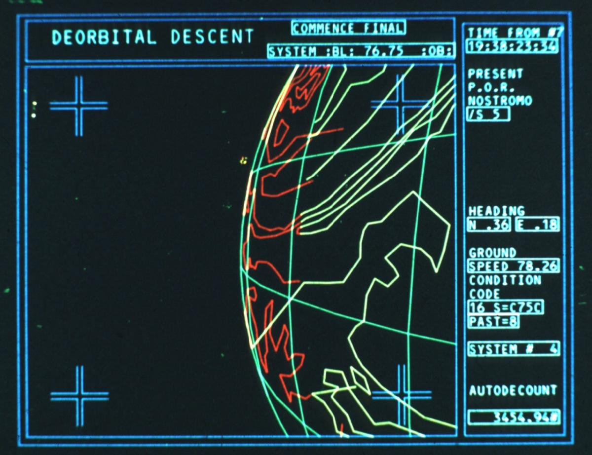 """Equatorial orbit nailed"": the story behind the computer animations of 'Alien'."