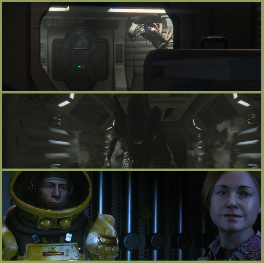 Images from Alien: Isolation., (c) 1997-2014 Sony Computer Entertainment, Inc.