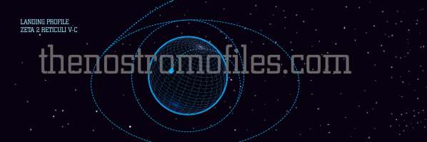 The Nostromo orbits and sets down on the planetoid