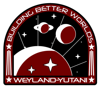 Alien-inspired off world patch