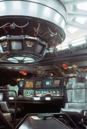 """The interior of the Nostromo was so believable,"" HR Giger told Famous Monsters, ""I hate these new-looking spacecraft. You feel like they're just built for the movie you're seeing. They don't look real."""