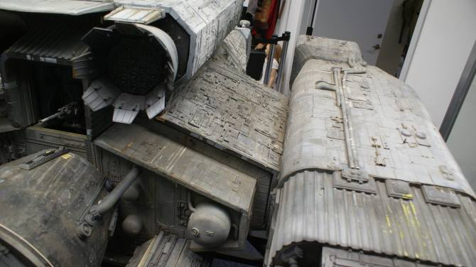A view of the starboard nacelle support, courtesy of John Eaves