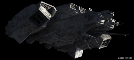Ed Giddings Eaglemoss Nostromo nos-04-lrg