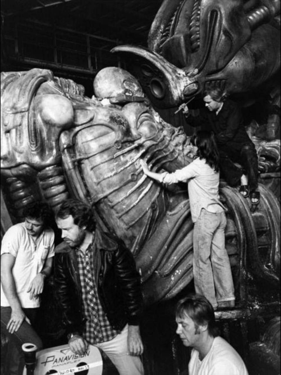 Crafting the pilot, with Giger.
