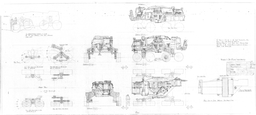 Plans for the Jorden's tractor.