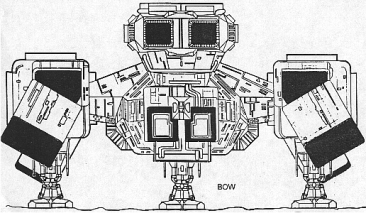 Bow view, from the Halcyon model kit plans.