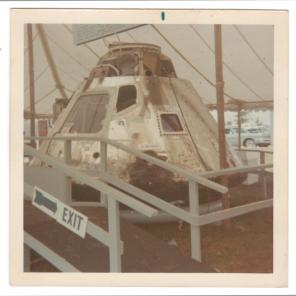 An Apollo Command Module, c. 1970