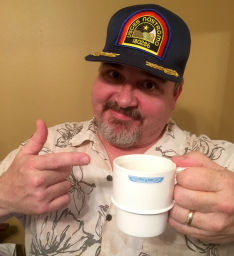 Your friendly Nostromo Files archivist, Darrell (aka Fen Giddel). And yes, my wife's coffee IS the only thing good on this ship!