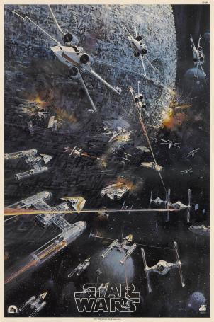 John Berkey's 'Battle of Yavin'
