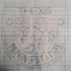 Version 2, Nostromo patch inverted, highlighting the mineral treasures of Thedus...