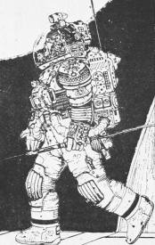 Moebius's take on the spacesuits