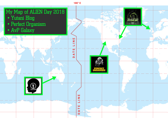 My Map of Alien Day 2018