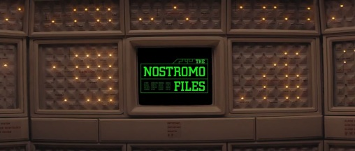 The Nostromo Files on Mother's Screen