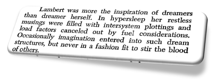 Excerpted from Alien, a novel by Alan Dean Foster. Warner Books Edition. Copyright (c) 1979 by 20th Century-Fox Film Corporation