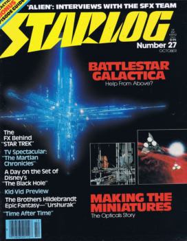 em>Starlog #27 (Oct. 1979), pg. 67. Click the image to read the issue online.