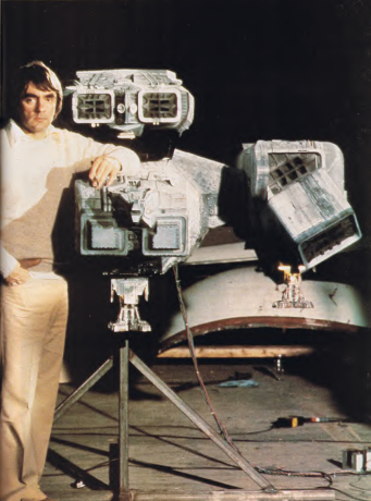 em>Starlog #27 (Oct. 1979), pg. 65. I included this one since it is my all-time favorite photo of the largest full Nostromo miniature.