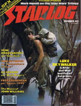 em>Starlog #40 (Nov. 1980), pg. 67. Click the image to read the issue online.