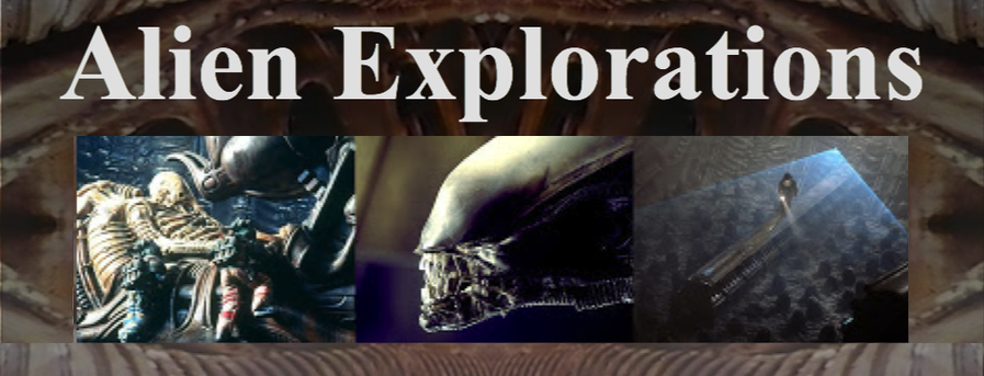 "Alien Explorations blog ""Exploring the ""Alien"" Movies and HR Giger. All entries are continuously edited and altered.  Articles are published not by actual date."""