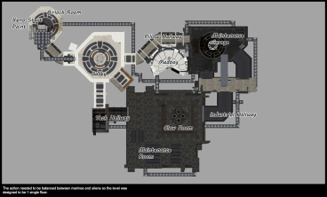 Shawn's Nostromo map, drawn up in three weeks!
