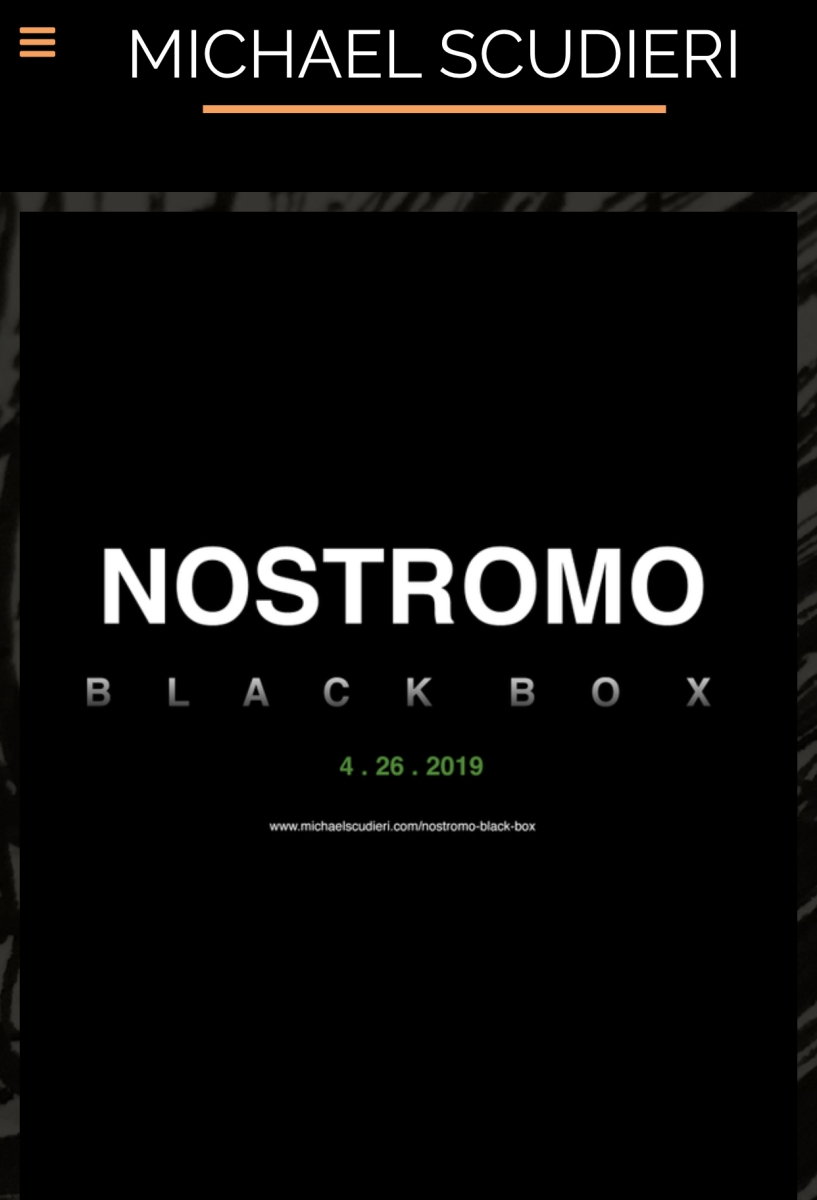 Michael Scudieri's NOSTROMO: BLACK BOX